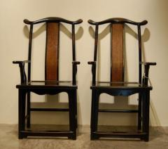 Official highback chairs in black with mat back