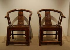 Round back chairs in original brown