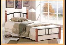 Rubberwood bed