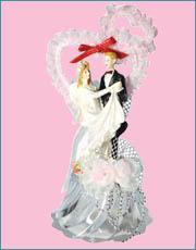 Cake Decoration, Wedding Doll