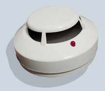 Photoelectric Smoke Detector 24VDC