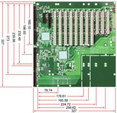 14-slot [PCI-E x4 (1), PCI-E x8 (1), PCI-X (8),PCI