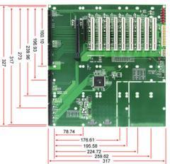 12-slot [PCI-E x16 (1), PCI-E x8 (1, x4 signal),