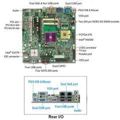Intel® Core™ 2 Duo processor based Micro-ATX