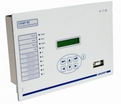 VAMP 40 Feeder and motor protection relay