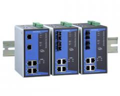 6-port IEEE 802.3af/at PoE+ managed Ethernet