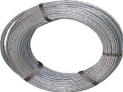 Bare galvanized steel wire 50mm2