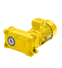 Parallel shaft geared motors