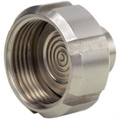 Diaphragm seal with thread fitting IDF standard