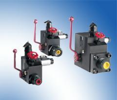 Accumulator safety blocks