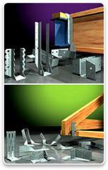 Pryda Timber Connectors