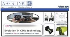 Aberlink Axiom too (Manual and CNC CMM)