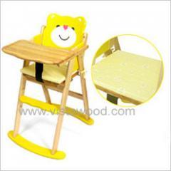Baby High Chair-Bear