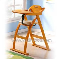 Bent Wood Baby High Chair
