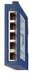 Fast Ethernet Rail Switch – Spider 5TX