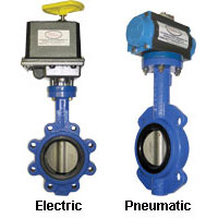 Automated Butterfly Valve