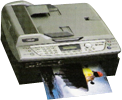Brother - MFC-620CN Inject Fax Machine