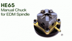 HE65 Manual Chuck for EDM Spindle