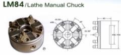 LM84 Lathe Manual Chuck