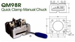 QM98R Quick Clamp Manual Chuck