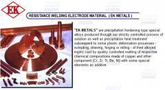 Welding Electrode Materials