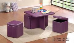 Kid's BBT 5073 Stool & BBT 4028 Table