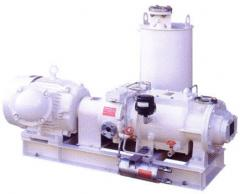 Screw vacuum pumps