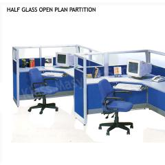 Half Glass Open Plan Partition