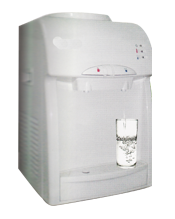 Cold and hot water dispenser
