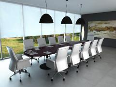Olive Oval - 12 Seats Table
