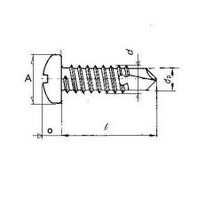 IFI/ANSI , Pan Philips Self Drilling Screw ( Tek