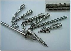 Precision tool steel carbide pins and plungers
