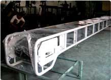 Portable Conveyor through Belt