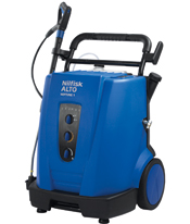 Compact mobile hot water high pressure washer,
