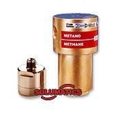 High pressure filter 200 bar brass / stainless