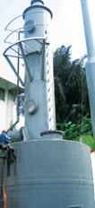 Venturi scrubber system