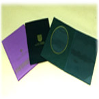 Various Certificate Folders A4