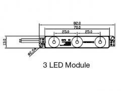 Mini 3 led module