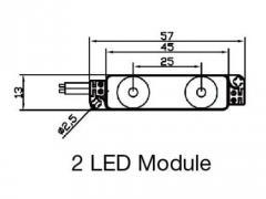 Mini 2 led module