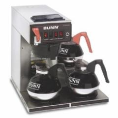 Automatic Coffee Brewer with 3 Lower Warmers