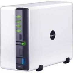 DS209 Feature-rich 2-bay SATA NAS Server
