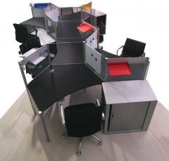 Flexible Contemporary Workstation