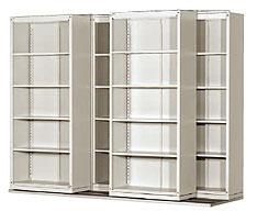 Glide A Side System With Open Shelf Cupboard