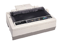 24-Pin Dot Matrix Printer, Panasonic KX-P1121