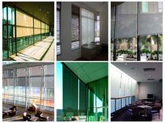 Helioscreen roller shades