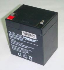 4.5Ah 12V Rechargeable VRLA Sealed Lead Acid Battery