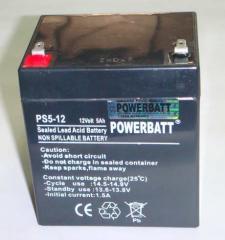 5Ah 12V Rechargeable VRLA Sealed Lead Acid Battery