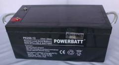 250Ah 12V Rechargeable VRLA Sealed Lead Acid Battery
