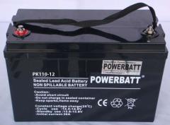 110Ah 12V Rechargeable VRLA Sealed Lead Acid Battery