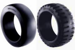 Trelleborg Press On Solids - Forklift Tyre